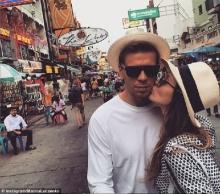 เชสนี่ประตูอาร์เซนอลควงแฟนสาวเที่ยวเมืองไทยสุดชิล-ซาโก้ไปสมุย