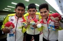 ผลงานนักกีฬาไทย  เสาร์ ที่ 6 มิถุนายน 2015