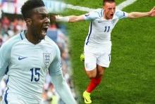 วาร์ดี้-สเตอร์ริดจ์ 2ฮีโร่ พาอังกฤษพลิกชนะเวลส์ 2-1