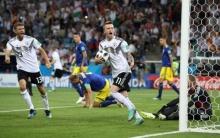 เยอรมัน สิบคน เฉือนสวีเดนทดเจ็บต่อลมหายใจลุ้นเข้ารอบ!!(ไฮไลต์)
