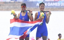 เรือพายไทยคว้าเพิ่ม 2 เหรียญทองแดง เอเชียนเกมส์ 2018