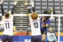 ตบสาวไทย เอาชนะ เกาหลีใต้ 3-2 เซต ศึกชิงแชมป์โลก 2018