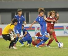 เจาะไข่ไม่แตก!! แข้งสาวไทย ไล่เจ๊า ไต้หวัน 0-0 ลุ้นเข้ารอบปรีโอลิมปิก!!