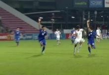 ดูกันชัดๆ!!! จังหวะแฮนด์บอลเกาหลีใต้ขึ้นนำ ช้างศึกไทย 2-1(คลิป)