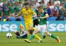 ไอร์แลนด์เหนือเก็บชัยประวัติศาสตร์ หลังบดชนะยูเครน 2-0