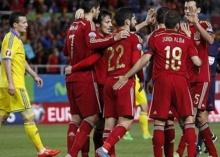 สเปนเฉือนยูเครน1-0 คัดยูโร2016สายC