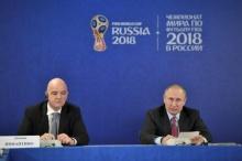 ประธานฟีฟ่ายันเจ้าภาพรัสเซียพร้อมแล้วจัดบอลโลก 2018