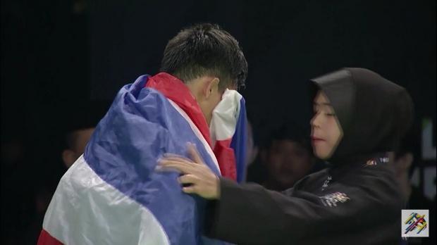 ผลการค้นหารูปภาพสำหรับ ชาวเน็ตงงใจ...เจ้าภาพตัดสินไทยแพ้ปันจักสีลัต หลังนักกีฬามาเลย์แข่งต่อไม่ได้