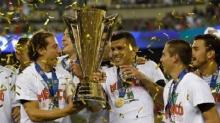เม็กซิโกถล่มจาเมกา 3-1 ซิวแชมป์โกลด์คัพสมัย 7-กวาร์ดาโด้ครองรางวัลนักเตะยอดเยียม