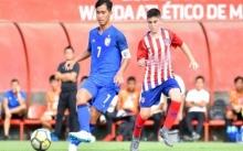ไฮไลท์! ช้างศึก U16 ทีมชาติไทย ถล่ม แอตเลติโก 7-0 (คลิป)