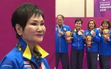 """""""คุณหญิงชดช้อย"""" ดีกรีนักกีฬาอาวุโสที่สุดของไทย นำทัพบริดจ์ทีมผสมคว้าเหรียญเงินเอเชียนเกมส์"""