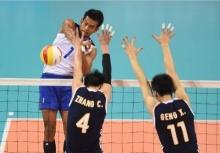 ตบหนุ่มไทยร่วมสายเกาหลีศึกชิงแชมป์เอเชีย