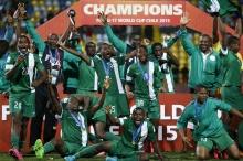 ไนจีเรียคว้าแชมป์โลกยู-17 2 ครั้งติด  รวมสมัยที่ 5