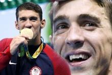 ตามคาด!!ไมเคิล เฟลป์ส คว้าทองโอลิมปิก เหรียญที่ 19