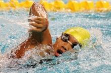 เงือกอุ้ม ชวดเข้ารอบตัดเชือกว่ายน้ำฟรีสไตล์ 100 เมตรหญิง