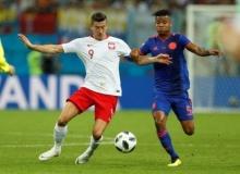 ยุโรปทีมแรกที่ตกรอบ!!โปแลนด์สิ้นท่าพ่ายโคลัมเบียขาดลอย