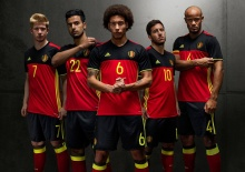 'เบลเยียม' เปิดชุดแข่งใหม่ลุยยูโร 2016