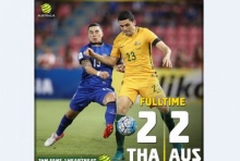 โหด! คอมเม้นท์แฟนบอล ออสเตรเลีย หลังทำได้แค่เสมอ ไทย 2-2