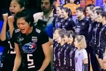 แพ้ 9 นัดรวด! ตบสาวไทยสู้ไม่ไหวพ่ายเบลเยียม 1-3
