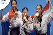 เหรียญทองแรก เอเชี่ยนเกมส์ เทควันโด้สาวไทยคว่ำ เกาหลีใต้ หวุดหวิด