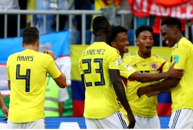 Image result for มินาโขกโทน 1-0 ส่งโคลอมเบียแชมป์กลุ่ม, เซเนกัลกลับบ้าน