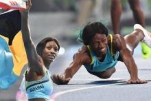 นักวิ่งสาวบาฮามาส เผยวินาทีถลาเข้าเส้นชัยซิวทอง