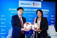 ไฮเซ่นส์ จัดแถลงข่าวร่วมกับฟีฟ่า ประกาศเป็นผู้สนับสนุน ฟุตบอลโลก ฟีฟ่า เวิร์ลด์ คัพ 2018