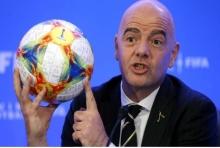ปธ.ฟีฟ่าแย้มบอลโลก2022มีลุ้นเพิ่ม48ทีม