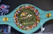 เปิดตัวเข็มขัดแชมป์ ′ฟลอยด์-ปาเกียว′ มูลค่า 32 ล้านบาท