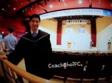 ชาวเน็ตร่วมแสดงความยินดี โค้ชเช จบปริญญาเอก!!