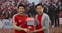 """""""ลิซาราซู"""" เยือนไทย พร้อมร่วมคัดเด็กโครงการ FC Bayern Youth Cup Thailand!!"""