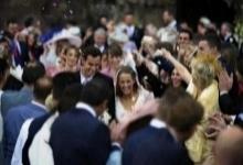 เมอร์เรย์ควงคิมเซียร์สแต่งงาน-ไร้นักเทนนิสดังร่วมงาน