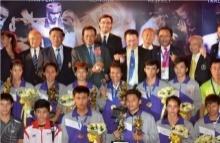 7 นักชกไทย ผงาดคว้าเหรียญทอง ศึกมวยไทย มหาวิทยาลัยโลก