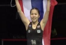 เมย์ รัชนก เชิญธงไทยนำทัพนักกีฬาในพิธีเปิดโอลิมปิก2016