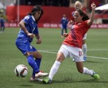 ฟุตบอลโลก หญิง ครั้งแรกในประวัติศาสตร์ สาวไทย ประเดิม พ่าย นอร์เวย์