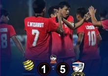 ขอไว้อาลัย...แฟนบอล ออสเตรเลีย ช็อค!แพ้ไทย 1-5!!