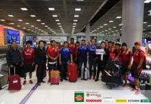 บุกสยาม! เมียนมาเดินทางถึงไทยก่อนทำศึกนัดที่สอง