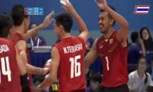 ตบชายไทยชนะเวียดนาม3-0เซต แชมป์สมัยที่3