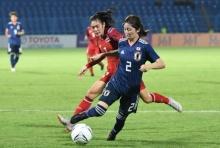 แข้งสาวสู้ขาดใจก่อนพ่ายญี่ปุ่น-นัดสุดท้ายดวลเวียดนามตัดสินเข้ารอบ