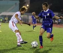 สาวไทยสุดเจ๋ง!! เตะแซงชนะเวียดนาม 2-1 ชิงศึกอาเซียนคัพดวลแข้งสาวเมียนมา
