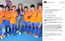 แข้งสาวไทยแห่โพสต์ไอจี เผยความรู้สึกหลังมาดามแป้งลาออกผู้จัดการทีม