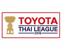 ผลการแข่งขัน - ตารางคะแนน ไทยลีก 2016 (อัพเดท 8 พ.ค.)
