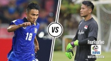 พรีวิว AFF Suzuki Cup 2016 : ไทย vs สิงคโปร์ : ช้างศึกเดินหน้าล่าแต้มที่ 6