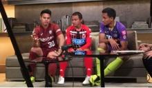 ใจตรงกัน! 3 แข้งไทยเผยทีมสุดแกร่งในเจลีก