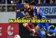 ผลโตโยต้าไทยลีกฯวันเสาร์-อาทิตย์ (29-30 มิ.ย.2019)