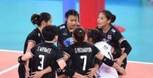 ทีมตบสาวไทยยู 23 คว้า 3 คะแนนแรกศึกชิงแชมป์โลก