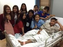 หมอให้ ′เมสซี่เจ′ กลับบ้านพักฟื้นต่อหลังผ่าตัด-เจ้าตัวปลื้มกำลังใจล้นหลาม