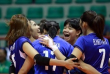 วอลเลย์บอลสาวไทยอัดอิหร่าน 3-0 เซต ศึกชิงแชมป์โลกรอบคัดเลือก