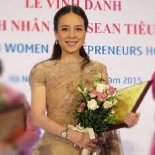 มาดามแป้งรับรางวัลสตรีผู้ประกอบการดีเด่นของอาเซียน