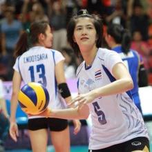 ลูกยางสาวไทยถือเคล็ด เปลี่ยนกัปตันทีม เป็น ปลื้มจิตร์